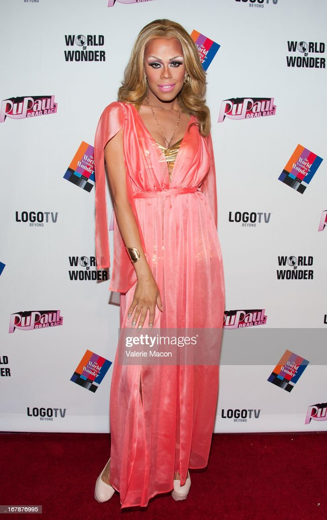 Monica Beverly Hills attends the Finale, Reunion & Coronation Taping Of Logo TV's 'RuPaul's Drag Race' Season 5 on May 1, 2013 in North Hollywood, California.