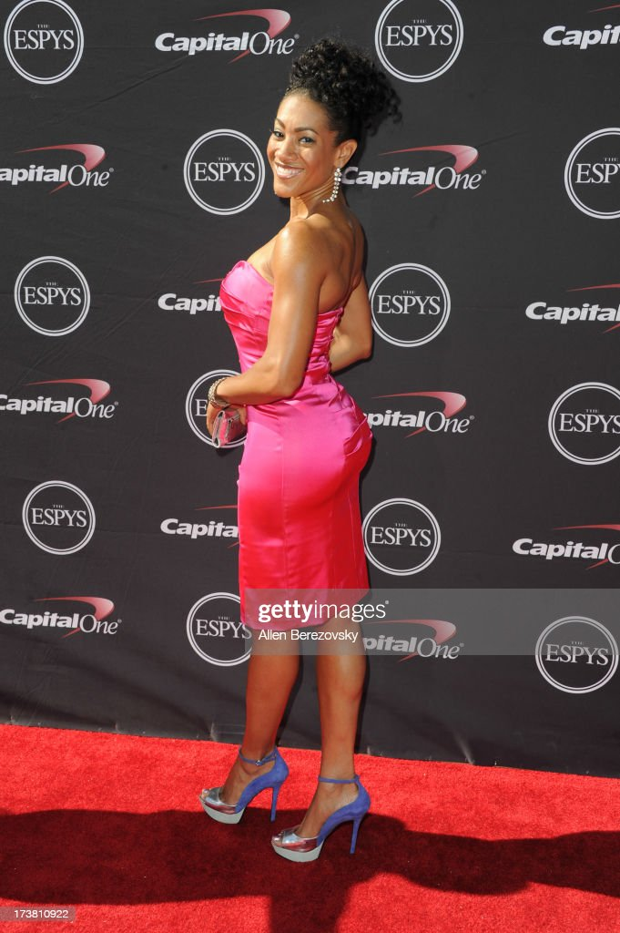 Monica Cabbler arrives at the 2013 ESPY Awards at Nokia Theatre L.A. Live on July 17, 2013 in Los Angeles, California.