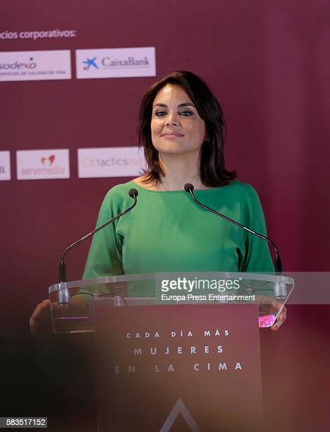 Monica Carrillo attends FEDEPE Awards at Cecilio Rodriguez gardens on July 26 2016 in Madrid Spain