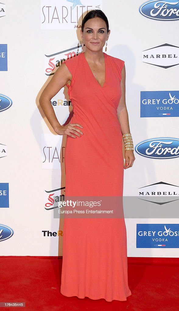 Monica Carrillo attends the 4rd annual Starlite Charity Gala on August 10, 2013 in Marbella, Spain.