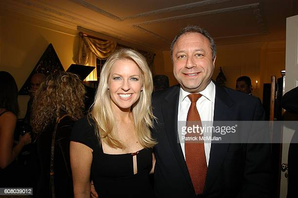 Monica Crowley and Bill Siegel attend RICHARD TURLEY Birthday Dinner at The Home of YueSai Kan on December 21 2006 in New York City