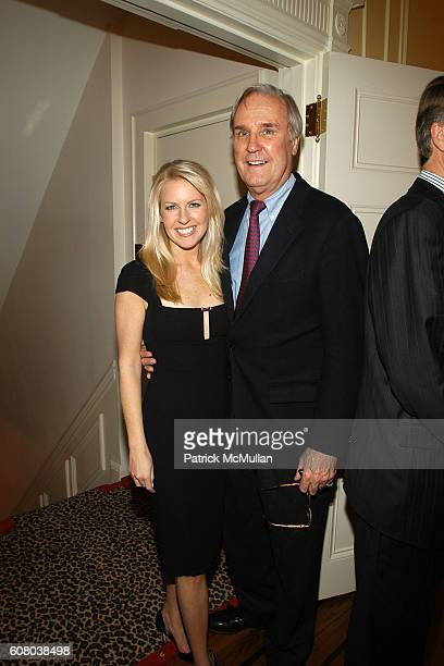 Monica Crowley and David Patrick Columbia attend RICHARD TURLEY Birthday Dinner at The Home of YueSai Kan on December 21 2006 in New York City