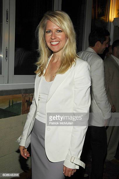 Monica Crowley attends Patti LaBelle Birthday Celebration hosted by Richard Turley at Serafina on June 19 2007 in New York City