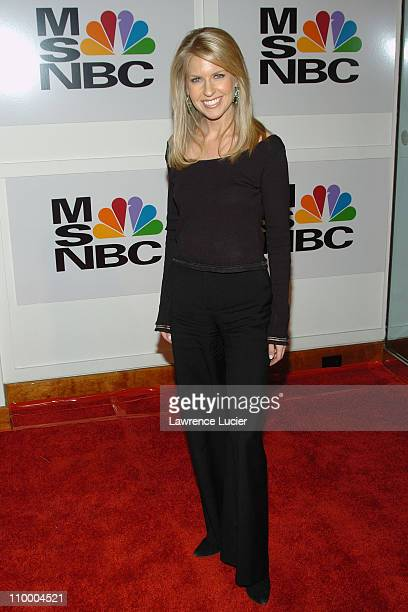 Monica Crowley during MSNBC Launches MSNBC at the Movies and MSNBC Entertainment Hot List at The Hit Factory in New York City New York United States