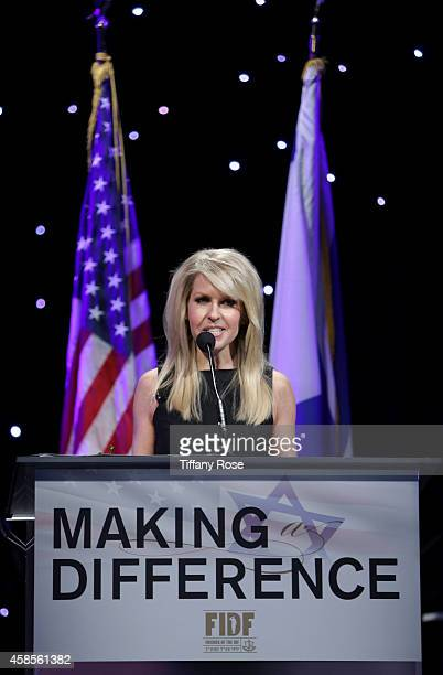 Monica Crowley speaks at the Friends Of The Israel Defense Forces 2014 Western Region Gala at The Beverly Hilton Hotel on November 6 2014 in Beverly...
