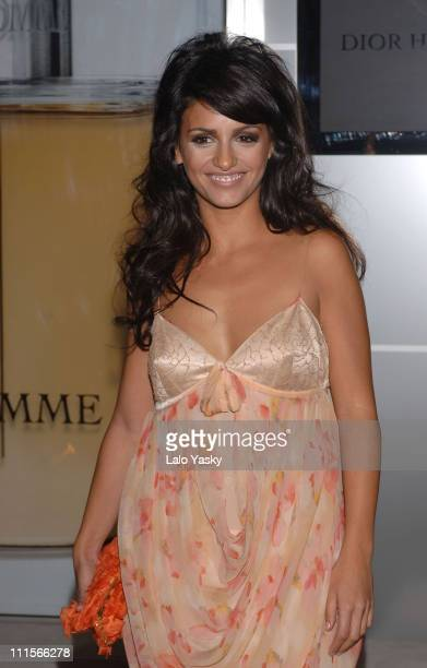 Monica Cruz during 'Dior Homme' Perfume Launch Dinner at French Ambassador Residence in Madrid Spain
