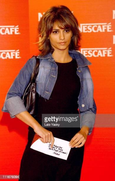 Monica Cruz during Monica Cruz Attends Nescafe Short Films Night at Circulo de Bellas Artes in Madrid Spain