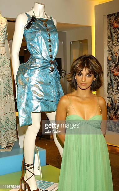 Monica Cruz during Monica Cruz Celebrates Chloe's 50th Anniversary Madrid at Ana Cortina Boutique in Madrid Spain