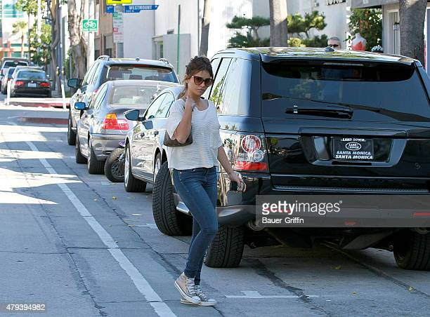 Monica Cruz is seen on February 02 2011 in Los Angeles California
