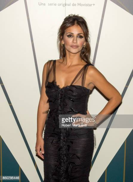 Monica Cruz poses during a photocall for the premiere of 'Velvet' at the Sala Phenomena on September 20 2017 in Barcelona Spain