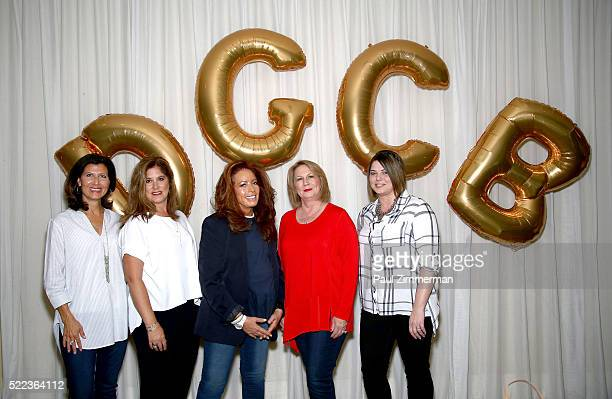 Monica Dahl SVP Marketing Omnichannel PR Tricia Perket VP DGMM fashion designer Diane Gilman LuAnn Via President CEO Christopher Banks and Aemlia...