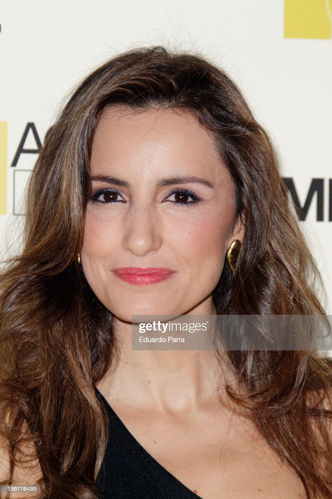 Monica de Tomas attends Academia del perfume awards photocall at Casa de America on November 20, 2012 in Madrid, Spain.