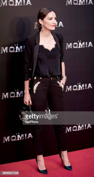 Monica de Tomas attends 'The Mummy' premiere at Callao Cinema on May 29 2017 in Madrid Spain
