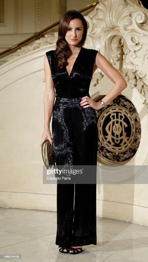 Monica de Tomas attends the Ralph Lauren Dinner Charity Gala at the Casino de Madrid on November 14, 2013 in Madrid, Spain.