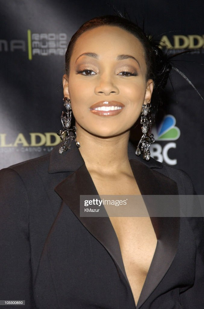 Monica during 2003 Radio Music Awards - Arrivals and Backstage at The Aladdin Hotel and Casino in Las Vegas, Nevada, United States.