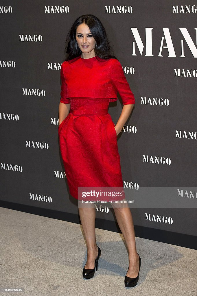 Monica Estarreado attends the launch of Mango new spring/summer 2011 collection at the Palacio de Cibeles on November 16, 2010 in Madrid, Spain.