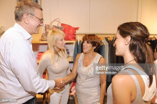 Monica Foreman and Liz Cohen attend CARLOS FALCHI JEFFREY THORPE Host A TwoDay Presentation at Magaschoni on July 23 2010 in Southampton NY