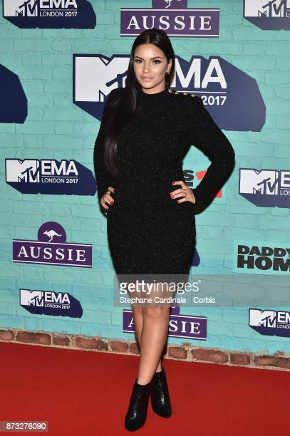 Monica Geuze attends the MTV EMAs 2017 at The SSE Arena Wembley on November 12 2017 in London England