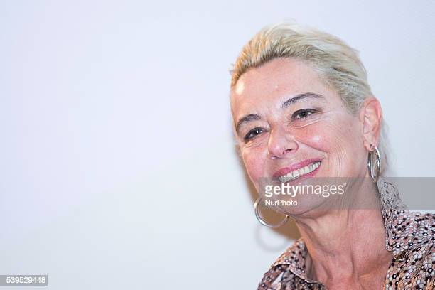 Monica Guerritore attends 62 Taormina Film Fest Day 2 on June 12 2016 in Taormina Italy