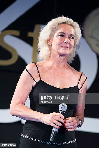 Monica Guerritore attends 62 Taormina Film Fest Opening on June 10 2016 in Taormina Italy