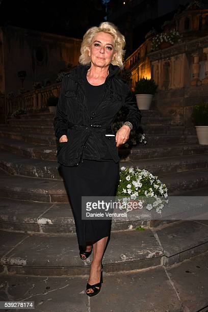 Monica Guerritore attends 62 Taormina Film Fest Pre Opening on June 10 2016 in Messina Italy