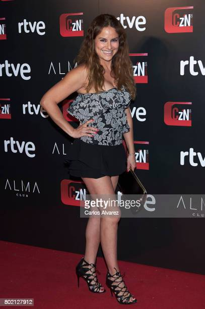 Monica Hoyos attends 'Corazon' TV programme 20th Anniversary at the Alma club on June 27 2017 in Madrid Spain