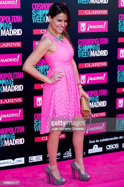 Monica Hoyos attends the 'Cosmopolitan Shopping Week' party at the Plaza de Callao on May 28 2013 in Madrid Spain
