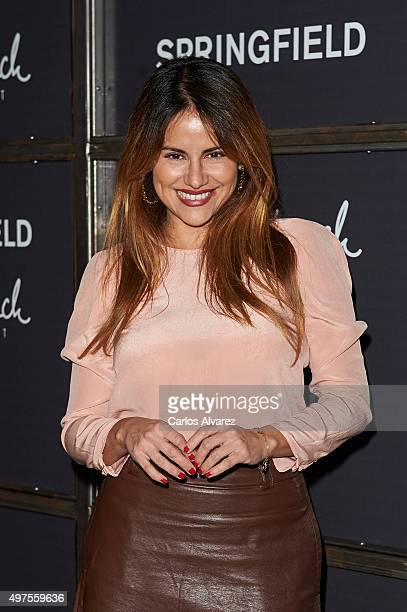 Monica Hoyos attends the 'Keep in Touch' Fashion Film presentation at the Luchana Theater on November 17 2015 in Madrid Spain