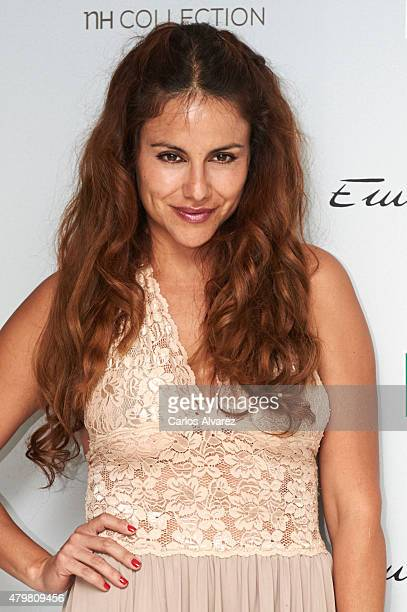 Emidio Tucci Catwalk at the Eurobuilding Hotel on July 7 2015 in Madrid Spain