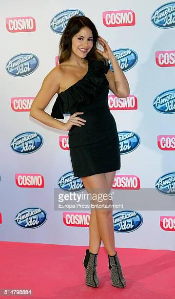 Monica Hoyos presents 'American Idol' talent show on March 10 2016 in Madrid Spain