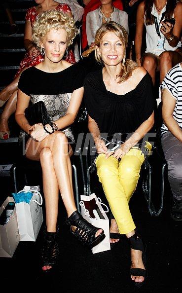 Monica Invancan and Ursula Karven...