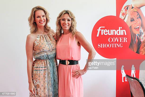 Monica Ivancan and Gundis Zambo during the 'MyFair Eine Erlebniswelt fuer mich' In Essen on June 13 2015 in Essen Germany