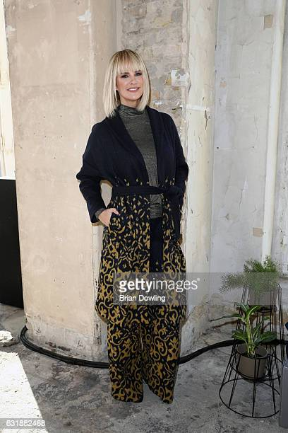 Monica Ivancan attends the holyGhost show during the MercedesBenz Fashion Week Berlin A/W 2017 at Kaufhaus Jandorf on January 17 2017 in Berlin...