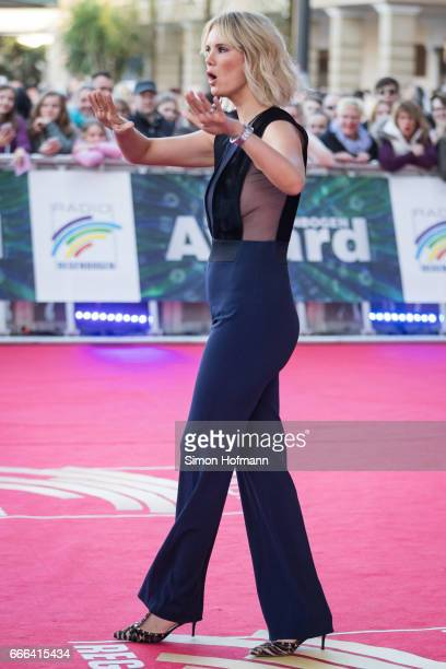 Monica Ivancan attends the Radio Regenbogen Award 2017 at Europapark on April 7 2017 in Rust Germany