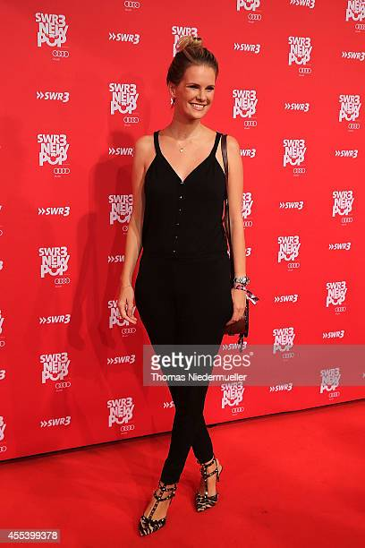 Monica Ivancan attends the red carpet prior to the SWR3 New Pop Festival 'Das Special' at Festspielhaus on September 13 2014 in BadenBaden Germany