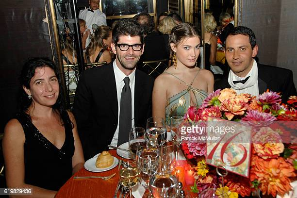 Monica Katz Daniel Cappello Belen Hudson and Gabriel Rivera attend Annual Gala of THE HISPANIC SOCIETY OF AMERICA at The Rainbow Room on October 2...