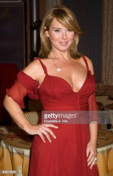 Monica Leofreddi attends the Italian TV program '2009 Horoscope' by Paolo Fox on December 17 2008 in Rome Italy