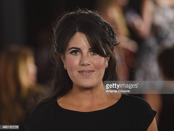 Monica Lewinsky arrives at the TrevorLIVE Los Angeles benefit event at the Hollywood Palladium on December 7 2014 in Los Angeles California