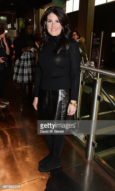 Monica Lewinsky attends a screening of 'Lost In Karastan' during the 4th annual LOCO London Comedy Film Festival at BFI Southbank on January 22 2015...