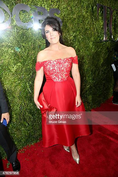 Monica Lewinsky attends the American Theatre Wing's 69th Annual Tony Awards at Radio City Music Hall on June 7 2015 in New York City