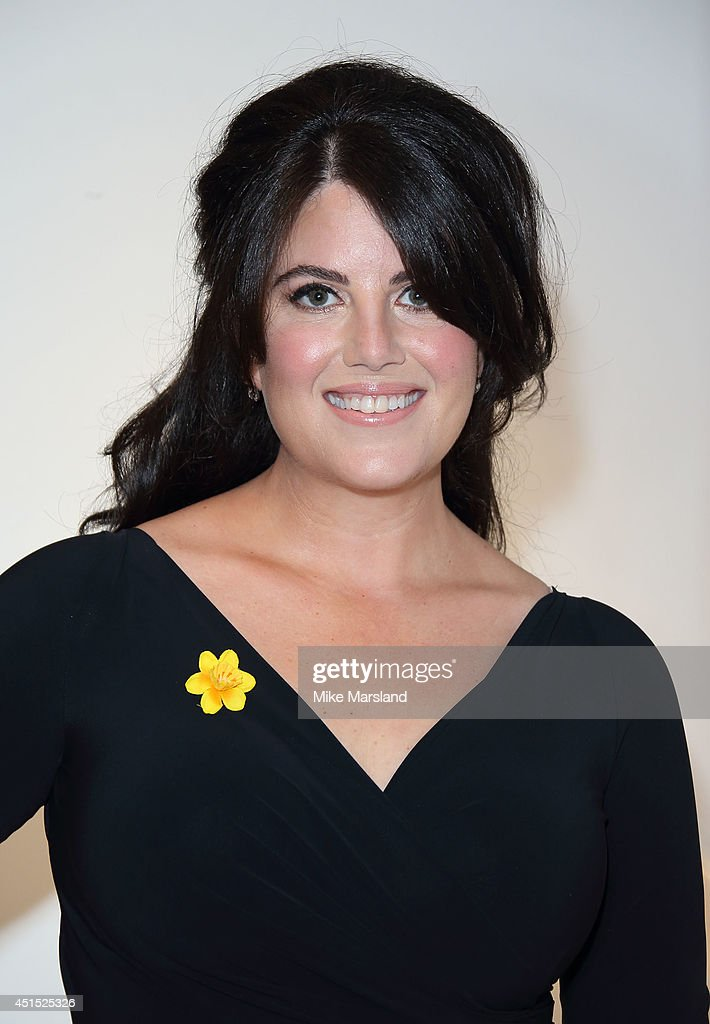 <a gi-track='captionPersonalityLinkClicked' href=/galleries/search?phrase=Monica+Lewinsky&family=editorial&specificpeople=118612 ng-click='$event.stopPropagation()'>Monica Lewinsky</a> attends the Masterpiece Marie Curie Summer party in partnership with Jaeger Le-Coultre and Heather Kerzner at The Royal Hospital Chelsea on June 30, 2014 in London, England.