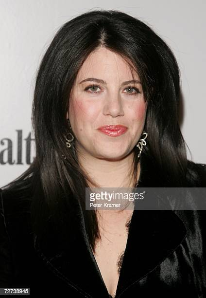 Monica Lewinsky attends the Men's Health Best Life exhibition for photographer Nigel Parry to celebrate the release of his new book Blunt at Milk...