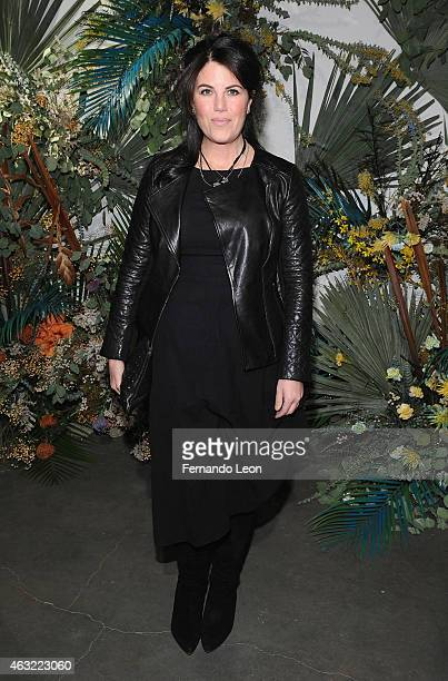 Monica Lewinsky attends the Rachel Comey fashion show at Pioneer Works Center for Arts Innovation during MercedesBenz Fashion Week on February 11...
