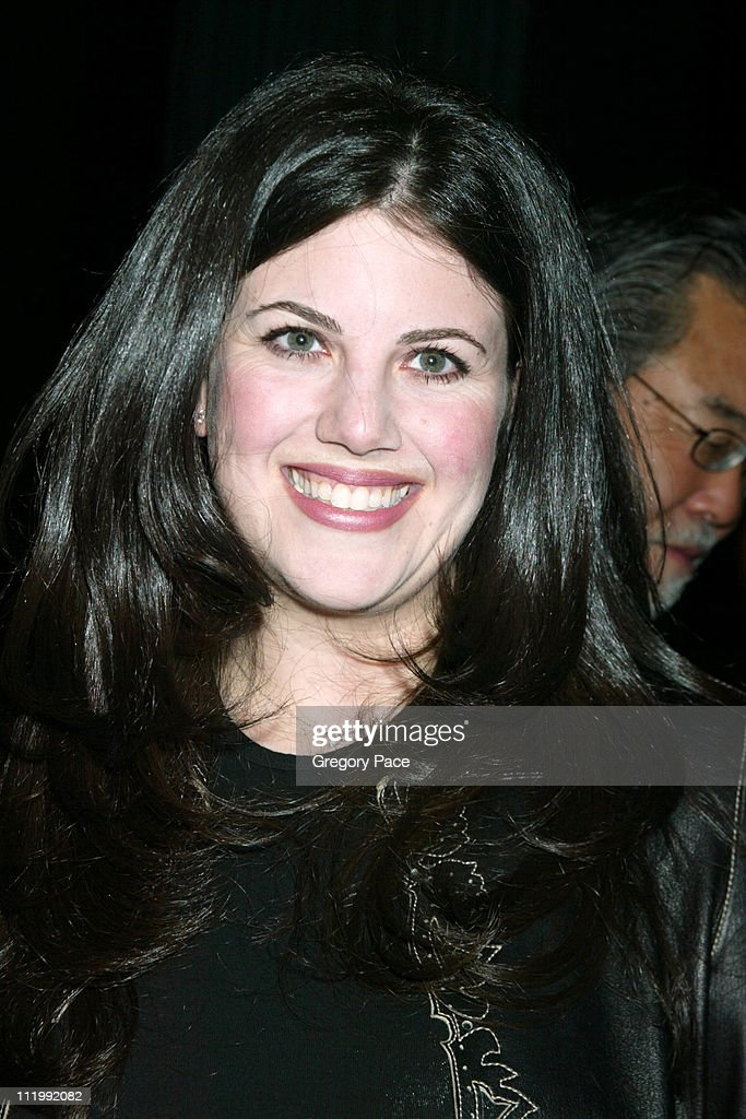 Lewinsky during Opening night of the Broadway show Take Me Out curtain ...