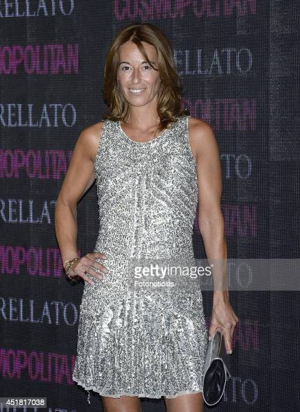 Monica Marrtin Luque attends the Cosmopolitan Beauty Awards at Platea Restaurant on July 7 2014 in Madrid Spain