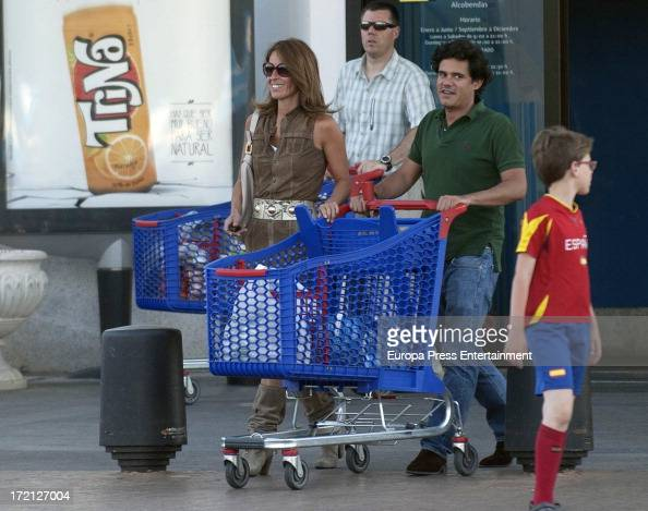 Monica Martin Luque and Jose Manuel Yzaga Fernandez are seen on July 1 2013 in Madrid Spain