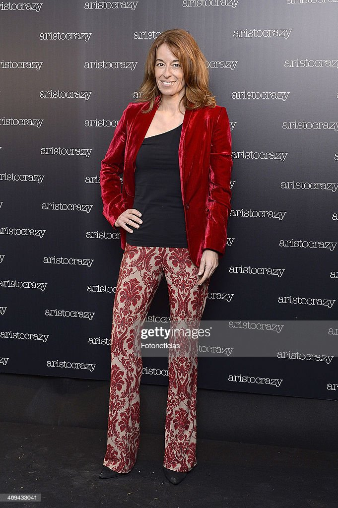 Monica Martin Luque attends 'Aristocrazy' after fashion show party at Luzi Bombon on February 14 2014 in Madrid Spain