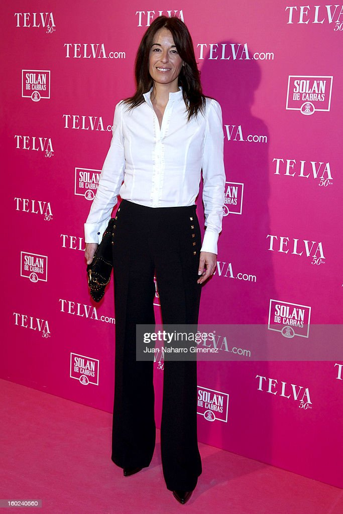 Monica Martin Luque attends 'Beauty T Awards 2013' by Telva at Palace Hotel on January 28, 2013 in Madrid, Spain.