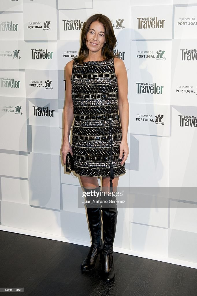 Monica Martin Luque attends Conde Nast Traveler Portugal presentation at Espacio AceroIn on April 12 2012 in Madrid Spain