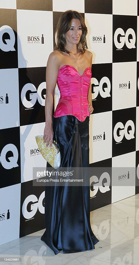 Monica Martin Luque attends 'GQ Men of the Year 2011' awards on November 23 2011 in Madrid Spain